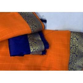 Chiffon saree
